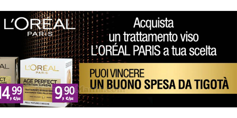 concorso L'Oréal Missione Anti Età