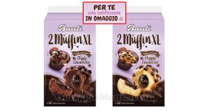 confezione omaggio Bauli 2 Muffin XL