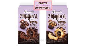confezione omaggio Bauli 2 Muffin XL