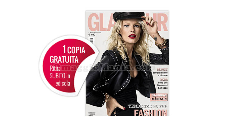 coupon omaggio Glamour n.307