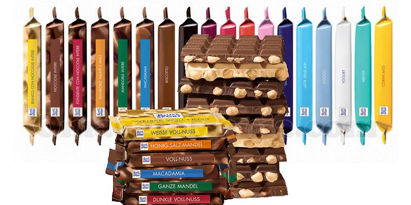 fornitura cioccolato Ritter Sport