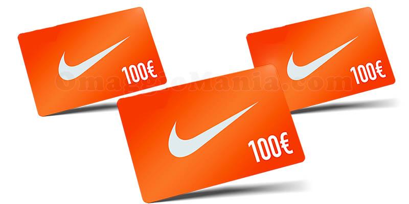 gift card Nike 100 euro