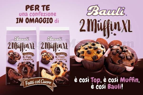 invito confezione omaggio Bauli Muffin XL