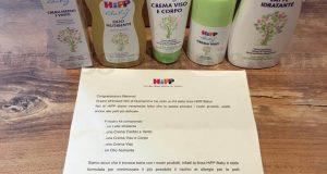 kit di prodotti HiPP di Marina