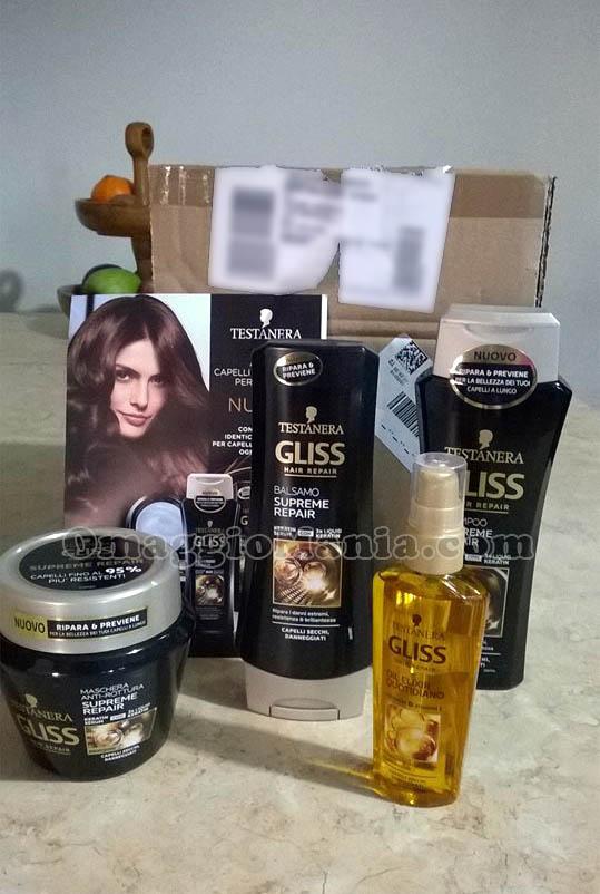 kit di prodotti Testanera con myBeauty di Magdalena