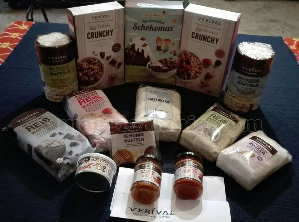 kit di prodotti Verival Bio di Claudia