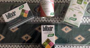 kit di prodotti detox Santiveri di Sara