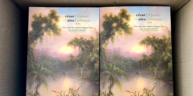 libro César Aira Il pittore fulminato