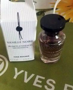 minitaglia profumo Yves Rocher Vanille Noire di Alessandra