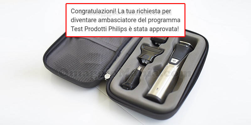 selezione tester Philips Multigrooomer Series 7000