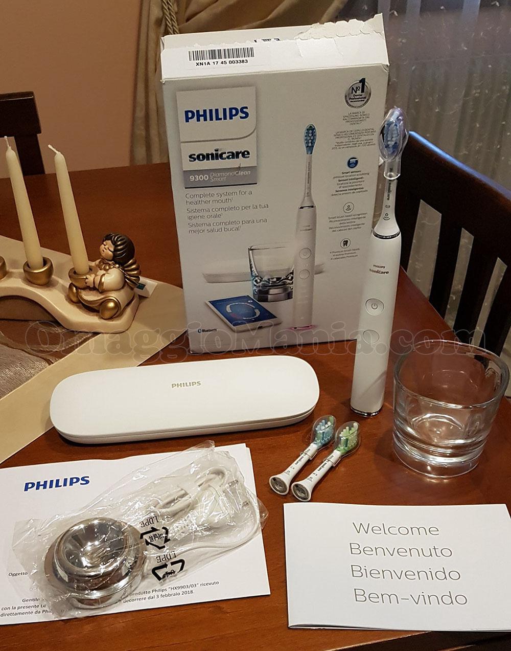 spazzolino elettrico Philips Sonicare DiamondClean Smart di Valentina