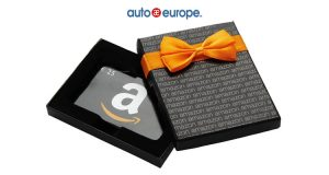 vinci buono Amazon da 25€ con Auto Europe