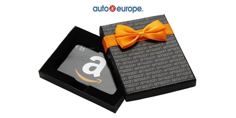 vinci buono Amazon da 25€ con Auto Europe