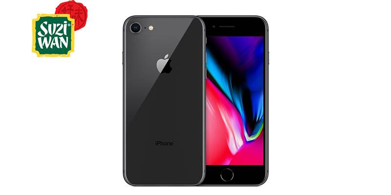 vinci iPhone 8 con Suzi Wan