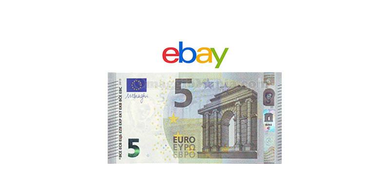 5 euro eBay