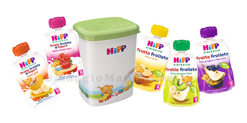 Box Frutta Frullata HiPP Biologico