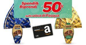 Carrefour Spendi e Riprendi il 50% sulle uova di Pasqua