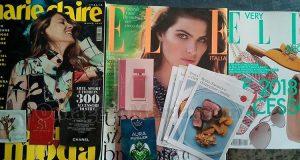 Elle 3 e Marie Claire 3 con campioni omaggio di Stefania