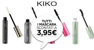 KIKO mascara 3,95 euro marzo 2018