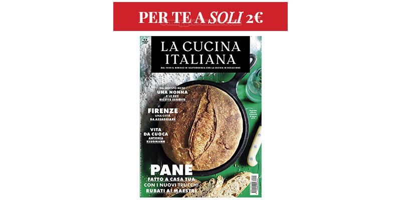 La Cucina Italiana per te a soli 2 euro coupon