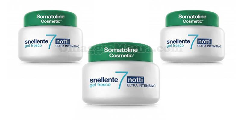 Somatoline Snellente 7 Notti Gel Fresco