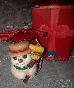 addobbo natalizio THUN Pupazzo di Neve di Barby