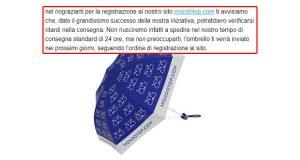 aggiornamento ombrello MondoTop