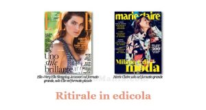 coupon omaggio Elle n°3 e Marie Claire n°3 2018
