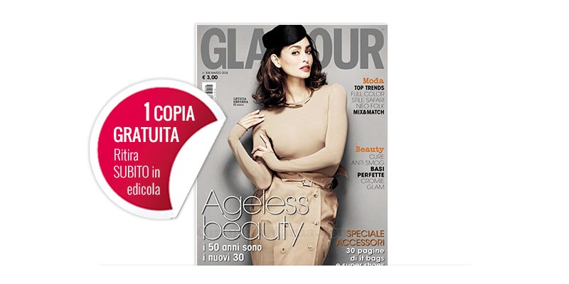 coupon omaggio Glamour 308