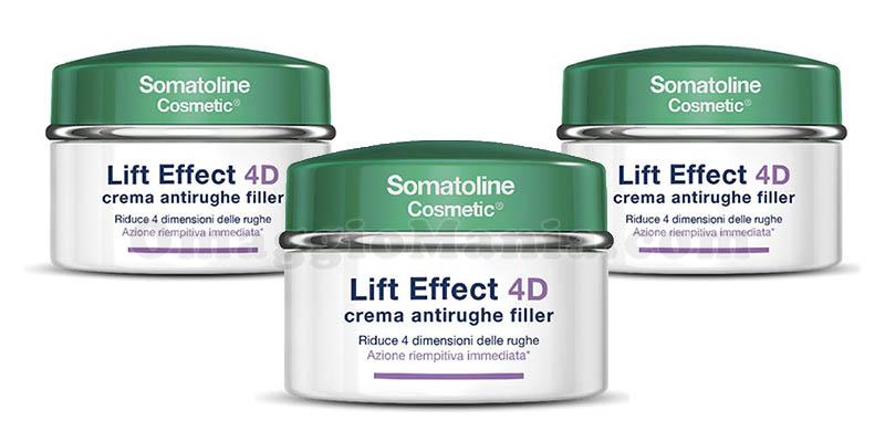 crema antirughe filler Lift Effect 4D Somatoline Cosmetic