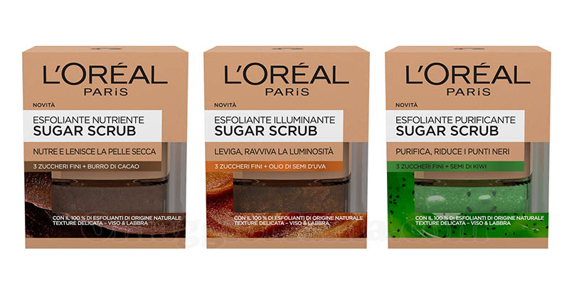 esfoliante Sugar Scrub L'Oréal Paris