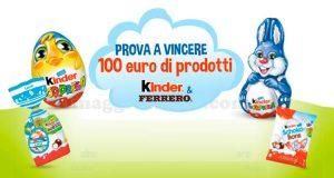 giga riffa di Pasqua 2018 Kinder Ferrero