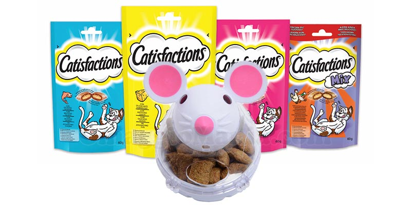 kit Catisfaction e Snacky Mouse