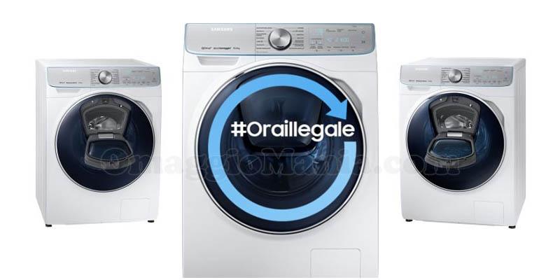 lavatrice Samsung QuickDrive Ora Illegale