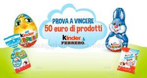 maxi riffa di Pasqua 2018 Kinder Ferrero