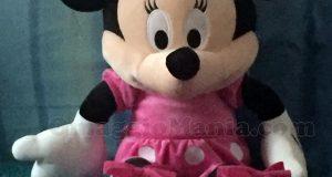 peluche Minnie di Angesa con Disney e Radio Italia