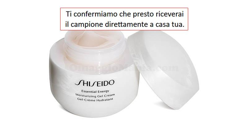 richiesta campione omaggio Shiseido Essential Energy