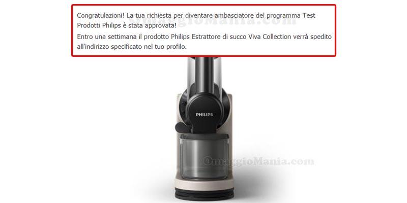 selezione tester estrattore succo Philips Viva Collection