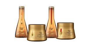 shampoo e balsamo L'Oréal Mythic Oil