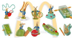 sorprese McDonald's Happy Meal Peter Rabbit