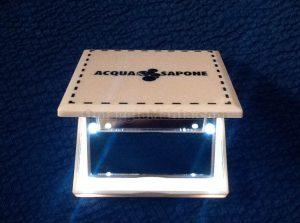 specchietto da borsa con led di Claudia da Acqua & Sapone