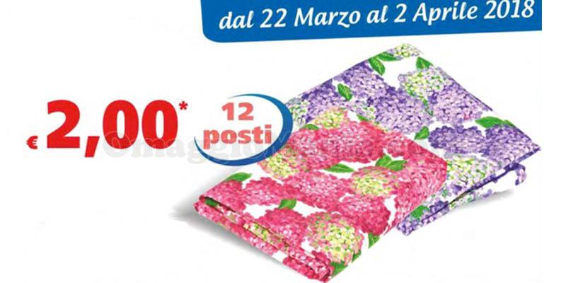tovaglia Ortensia 2 euro da MD LD Market
