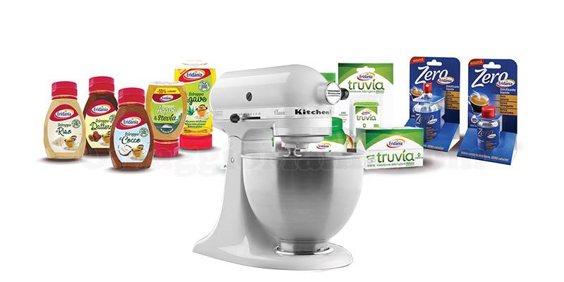 vinci robot da cucina KitchenAid con Eridania