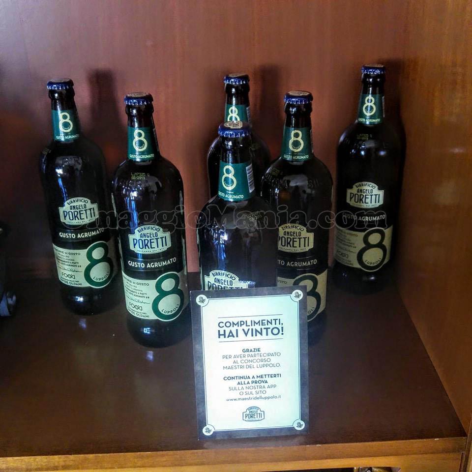 6 bottiglie di birra Angelo Poretti di Giuliana