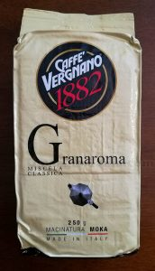 Caffè Vergnano di Sole con Parmalat PuroBlu