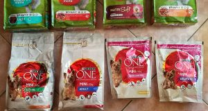 fornitura di prodotti Purins Friskies e Purina One Mini
