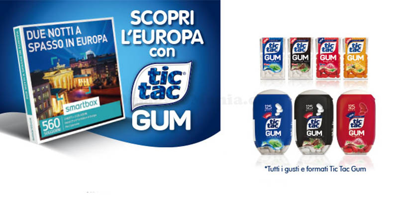 Scopri l'Europa con Tic Tac Gum