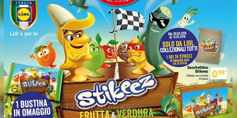 Stikeez Frutta & Verdura Lidl