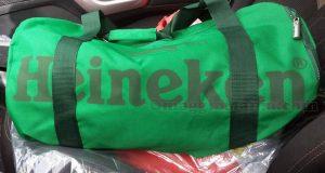 borsone Sport Bag Heineken di Annalisa
