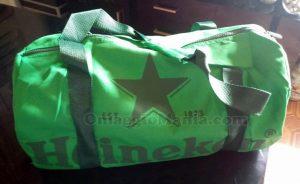 borsone Sport Bag Heineken di Laura